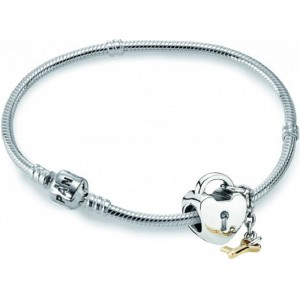 PANDORA Set Pulseira KEY TO MY HEART