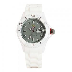 Relógio Benfica Branco e Cinzento Madison CandyTime SLB4359E1