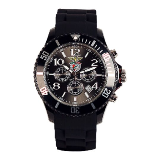 Relógio Benfica Crono Preto Madison CandyTime SLB4362A2