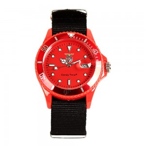 Relógio Benfica Vermelho e Preto Madison CandyTime SLBL4736-38