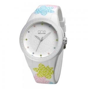 Relógio One Colors Dia da Mãe MOM Branco OA5644BB51L
