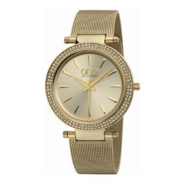 LXBOUTIQUE - Relógio One Lush Dourado OL5719DD52L