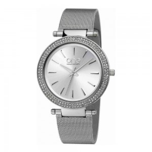 LXBOUTIQUE - Relógio One Lush Prateado OL5719SS52L