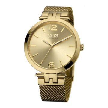 Relógio One Zen Dourado OL5813DD32O