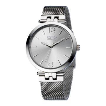 Relógio One Zen Prateado OL5813SS32