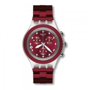 Relógio Swatch Full-Blooded Burgundy Coleção Irony SVCK4054AG