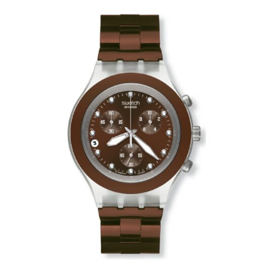 Relógio Swatch Full-Blooded Earth Coleção Irony SVCK4042AG