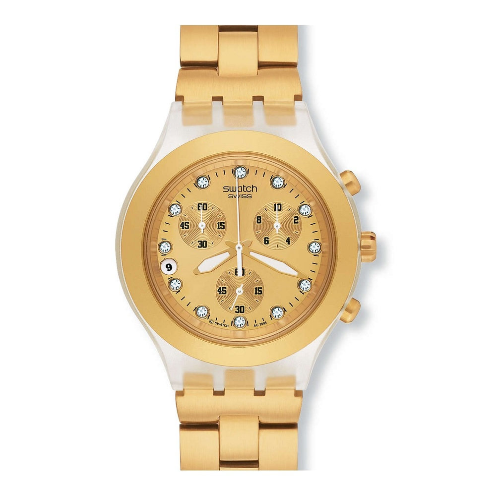 0918d59c689 Relógio Swatch Full Blooded Dourado SVCK4032G. Relógio Swatch Full Blooded  Dourado SVCK4032G