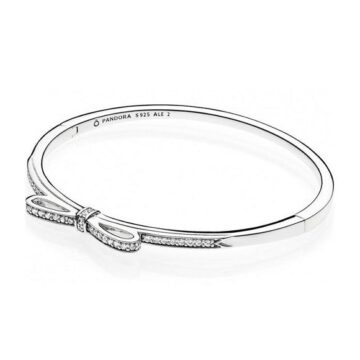 LXBOUTIQUE - Bangle PANDORA Sparkling Bow 590536CZ