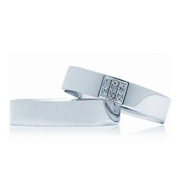LXBOUTIQUE - Alianças Casamento INVOG IPW25B Ouro Branco
