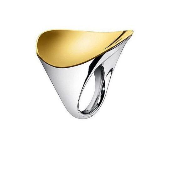 LXBOUTIQUE - Anel Calvin Klein Ondulate KJ1AJR200207