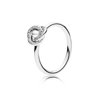 LXBOUTIQUE - Anel PANDORA Luminous Love Knot 191040WCP