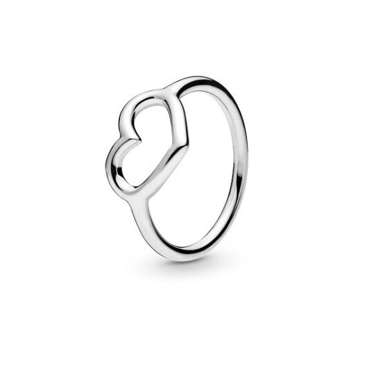 LXBOUTIQUE - Anel PANDORA Polished Open Heart 198613C00