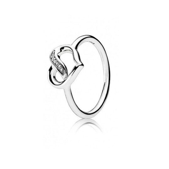 LXBOUTIQUE - Anel PANDORA Ribbons of Love 191022CZ