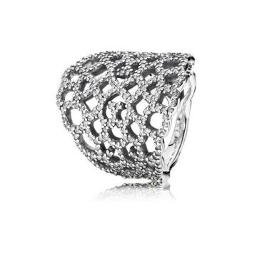 Anel PANDORA Shimmering Lace190907CZ