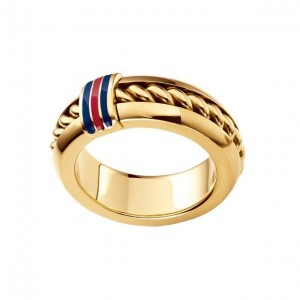 LXBOUTIQUE - Anel Tommy Hilfiger Dourado 2700578