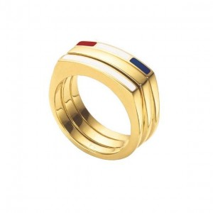 LXBOUTIQUE - Anel Tommy Hilfiger Dourado 2700581