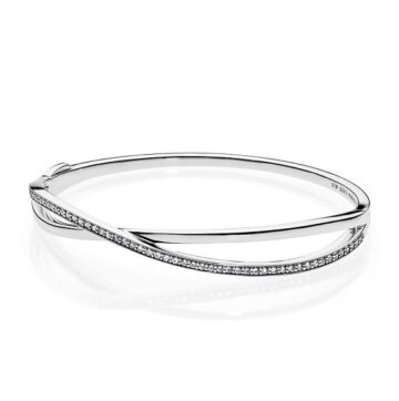 LXBOUTIQUE - Bangle PANDORA Entrelaçada 590533CZ