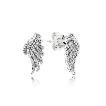 Brincos PANDORA Magestic Feathers 290581CZ