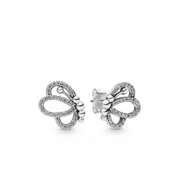 LXBOUTIQUE - Brincos PANDORA Butterfly Outlines 297912CZ