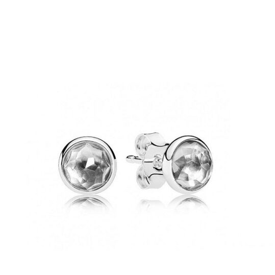 LXBOUTIQUE - Brincos PANDORA Droplets Abril 290738RC