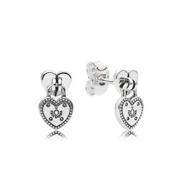 LXBOUTIQUE - Brincos PANDORA Love Locks 296575