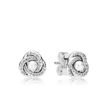 LXBOUTIQUE - Brincos PANDORA Luminous Love Knot 290740WCP