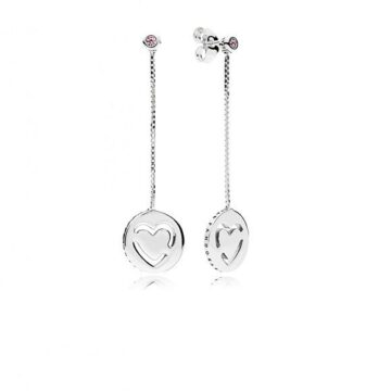 LXBOUTIQUE - Brincos PANDORA Pure Love 296577FPC