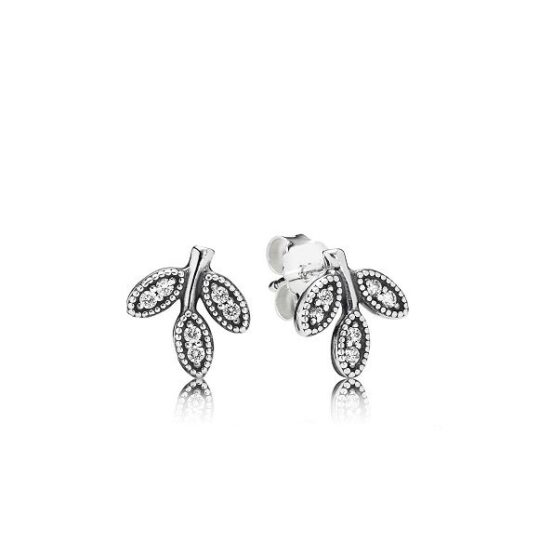 LXBOUTIQUE - Brincos PANDORA Sparkling Leaves 290564CZ