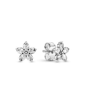 LXBOUTIQUE - Brincos PANDORA Sparkling Snowflake 299239C01
