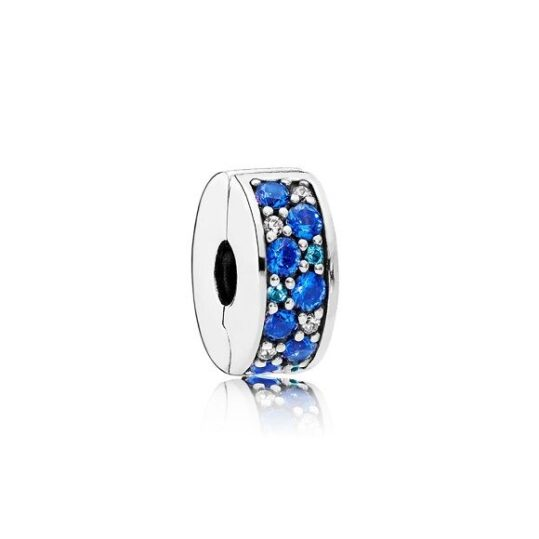 LXBOUTIQUE - Clip PANDORA Azul Com Silicone 791817NSBMX