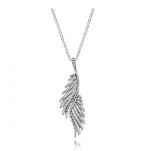 LXBOUTIQUE - Colar PANDORA Magestic Feathers 390373CZ