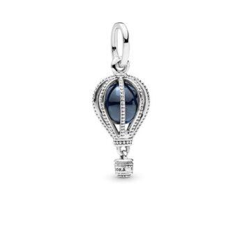 LXBOUTIQUE - Conta PANDORA Balão de Ar Quente Azul 798064NMB
