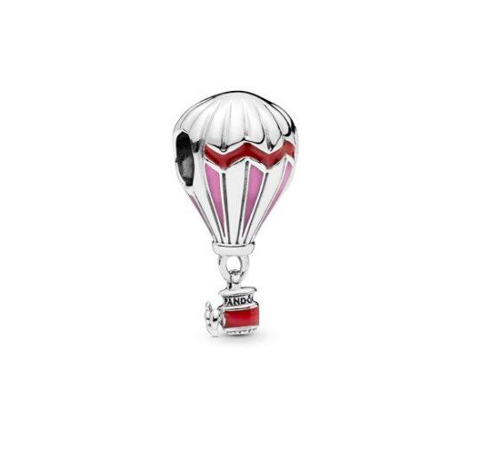 LXBOUTIQUE - Conta PANDORA Balão de Ar Quente Rosa 798055ENMX