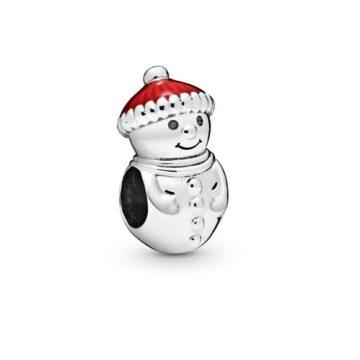 LXBOUTIQUE - Conta PANDORA Boneco de Neve 798478C01