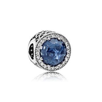 LXBOUTIQUE - Conta PANDORA Botão Azul Lunar 791725NMB