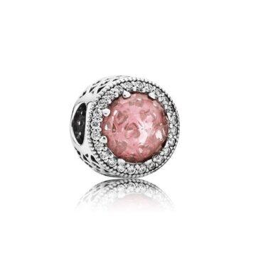 LXBOUTIQUE - Conta PANDORA Botão Rosa Blush 791725NBP