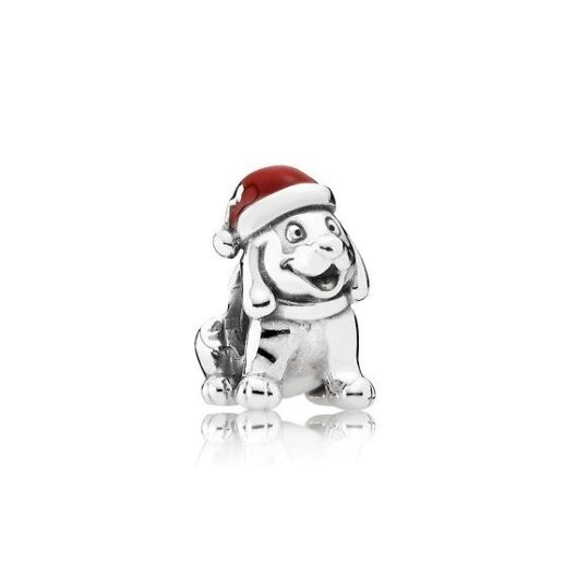 LXBOUTIQUE - Conta PANDORA Cão de Natal 791769EN39