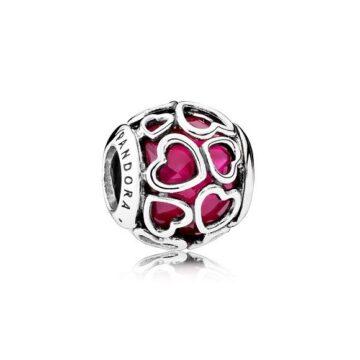 LXBOUTIQUE - Conta Pandora Cercada Pelo Amor 792036NCC