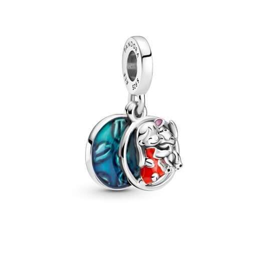 LXBOUTIQUE - Conta Pandora Pendente Disney Lilo & Stitch Family 799383C01