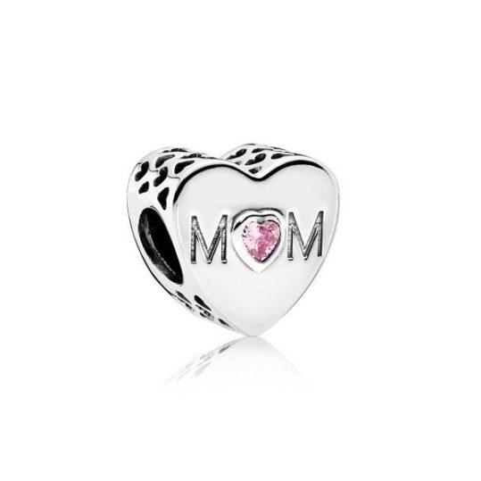 LXBOUTIQUE - Conta PANDORA Coração de Mãe 791881PCZ