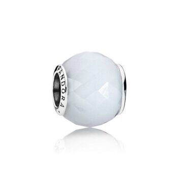 LXBOUTIQUE - Conta PANDORA Quartzo Facetado Branco 791722NOW