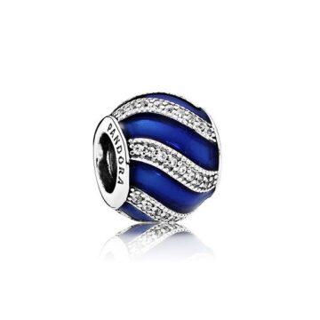 LXBOUTIQUE - Conta PANDORA Enfeite de Natal Azul 791991EN118