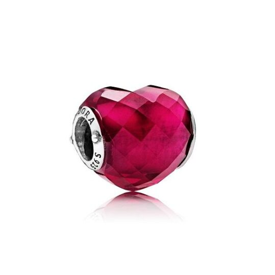 LXBOUTIQUE - Conta PANDORA Faces do Amor Fuchsia 796563NFR