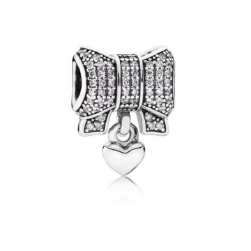 LXBOUTIQUE - Conta PANDORA Heart & Bow 791776CZ