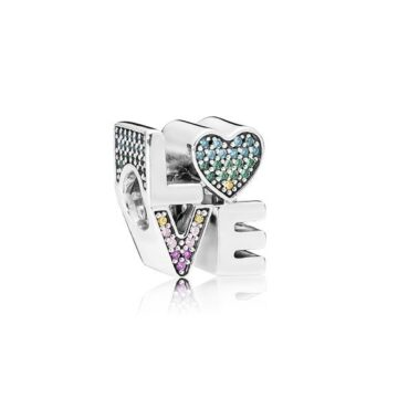 LXBOUTIQUE - Conta PANDORA Love Multicolorida 797189NRPMX