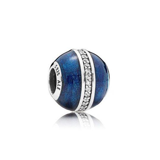 LXBOUTIQUE - Conta PANDORA Órbita Azul da Meia Noite 796377EN63