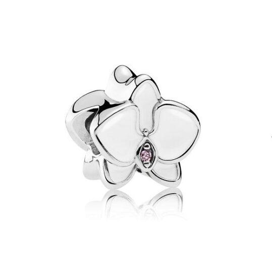 LXBOUTIQUE - Conta PANDORA Orquídea Branca 792074EN12