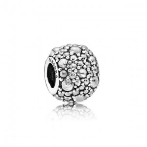 LXBOUTIQUE - Conta PANDORA Droplets Branco