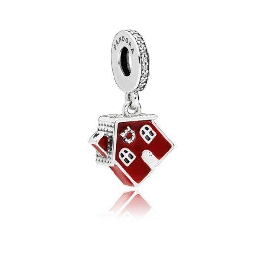 LXBOUTIQUE - Conta PANDORA Pendente Casa de Natal 797517EN27